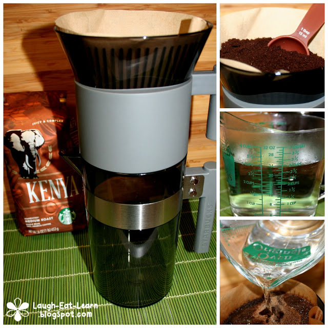 Ice coffee is my go to any afternoon and this coffee brewer perfectly made for ice coffee is GREAT for just that. Starbucks created a great at home system for any coffee lover.