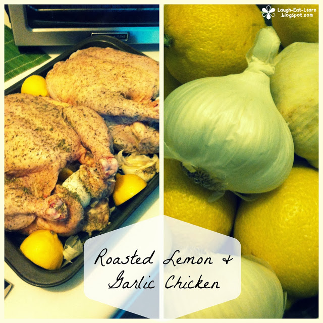 This roasted garlic and lemon chicken is hands down my favorite recipe! It's so full proof for any cook or any meal. I usually make this dish for my friends during our annual Friendsgiving. Every time I make this chicken is always comes out perfectly, juicy, and so flavorful!