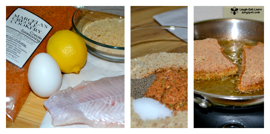 This is a start to finish 30 minute meal perfect for any weeknight (I've made this a couple times after my long day at school). The creole seasoning is an amazing compliment to the catfish. Serve with some rice and a slice of lemon and you are in for a good night!