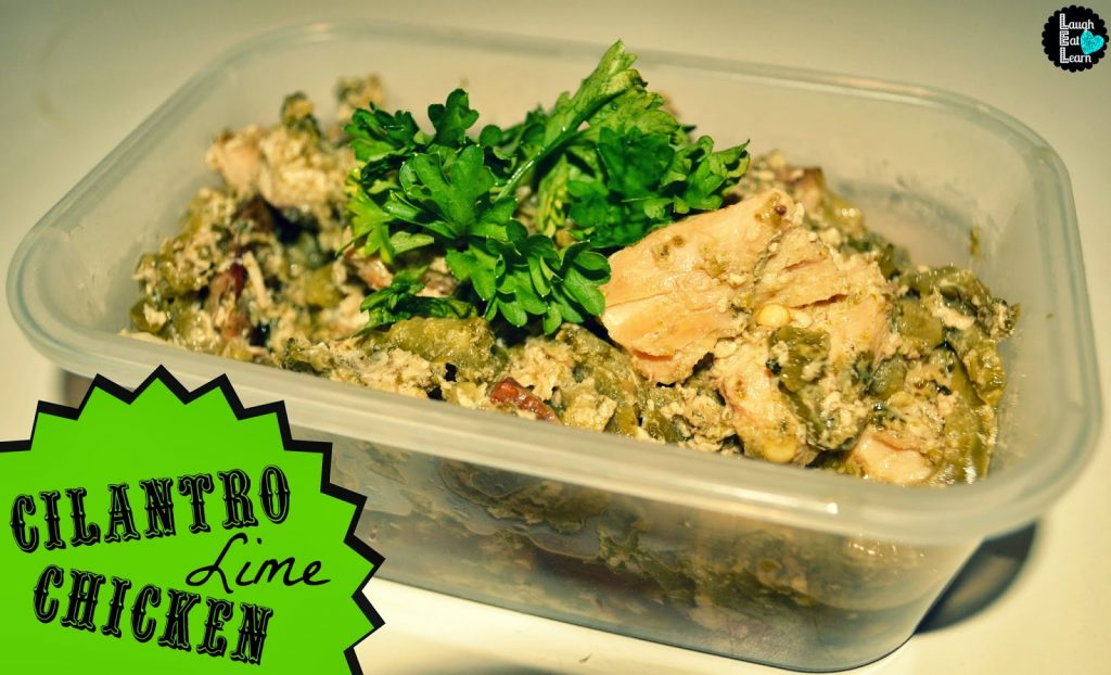 This slow cooker cilantro lime chicken is perfect for now or prep and freeze for later. You can easily pair it for taco night, nachos or rice and beans. Add some fresh lime to give it a new pop of flavor!