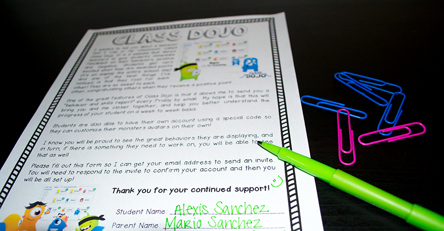 This back to school tips are perfect for any teacher getting ready to go back to school. I'm also sharing my favorite freebie for parents with the use of my Class Dojo system!