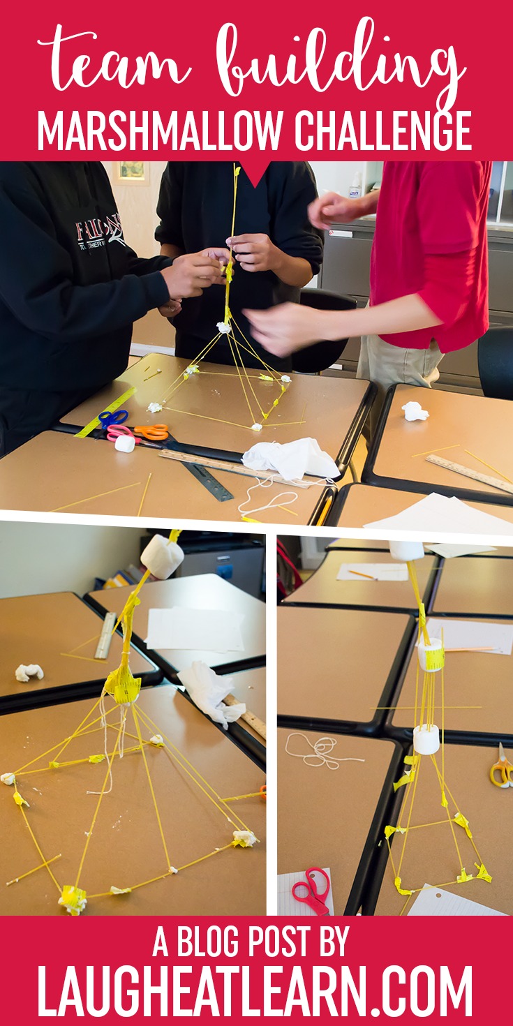 Are you in need of some quick, easy, and especially FUN team building for kids? The Marshmallow challenge is the perfect activity for back to school, after winter break, or any day you need them working together. This challenge is also great for any stem activity block you need in your classroom!