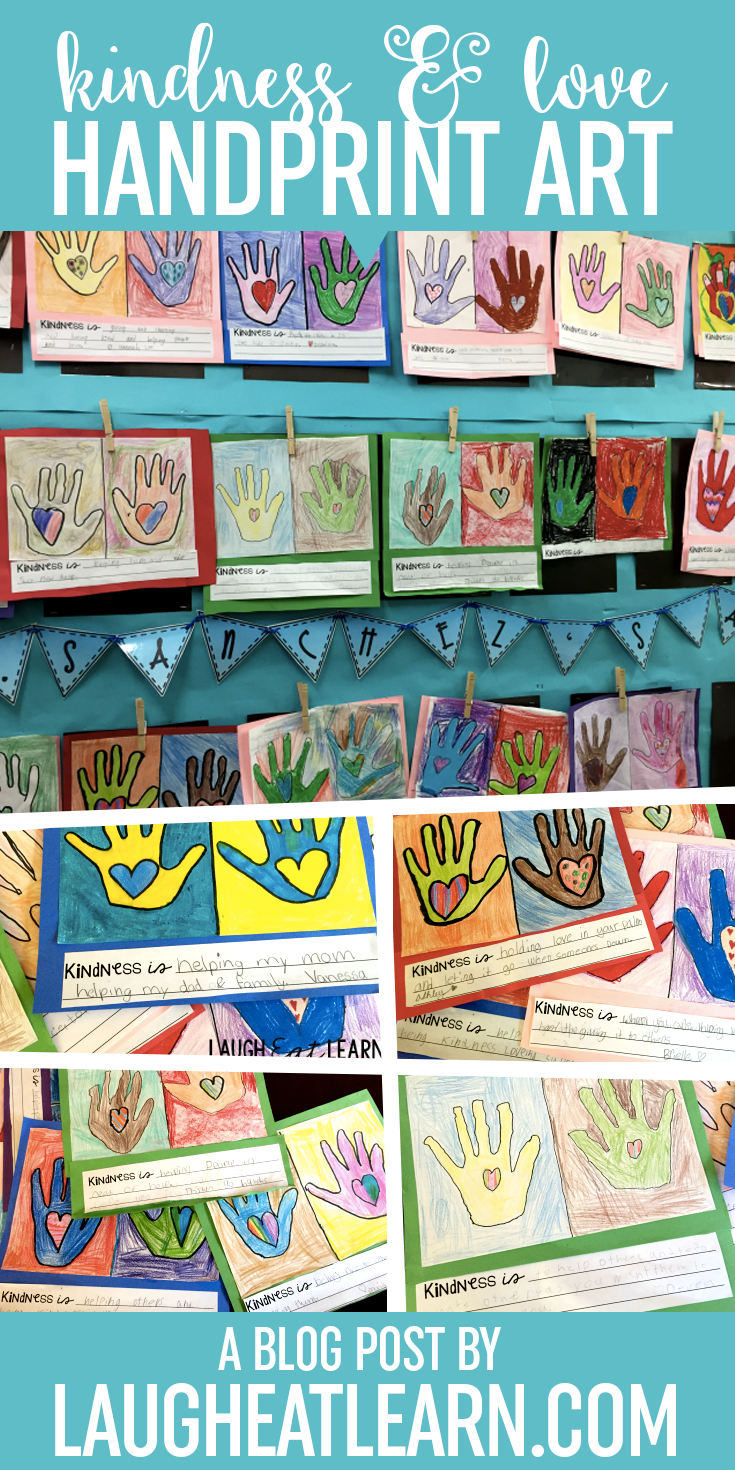 Kindness is such a powerful trait to teach our students. I had my students create and explain kindness through working together and giving definitions to the word Kindness and what it means to them. This art project is perfect for the month of February or any time of the year in your classroom.