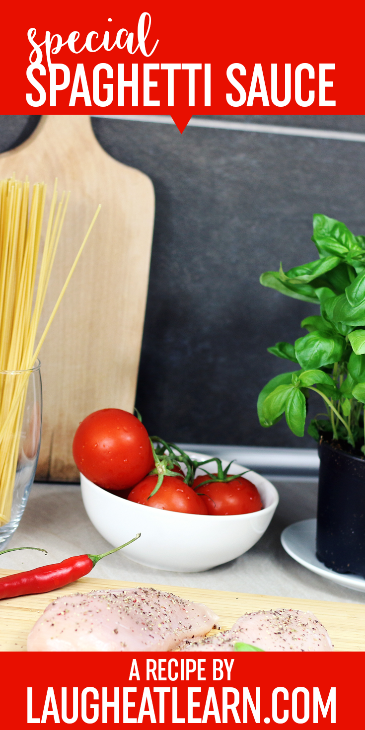 This is my go to recipe for any pasta meal I make! It's a perfect sauce for any pasta you choose (even zucchini noodles). You can choose what type of ground meat you would like in this tasty and savory spaghetti sauce.
