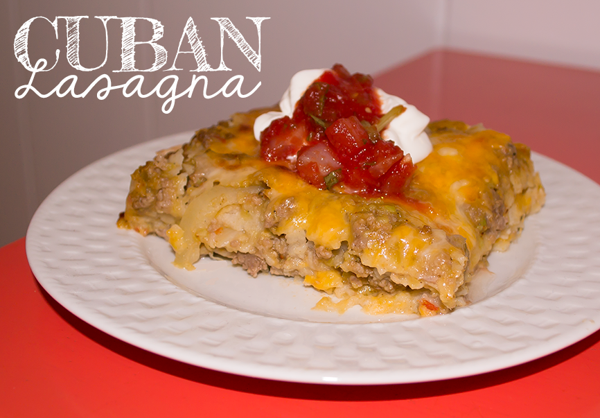 Cuban Lasagna Recipe