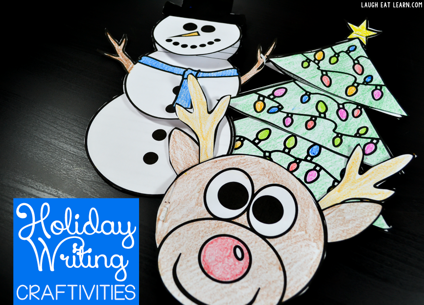 Holiday Writing Craftivities
