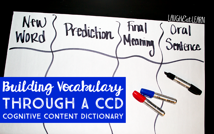Building Vocabulary through CCD