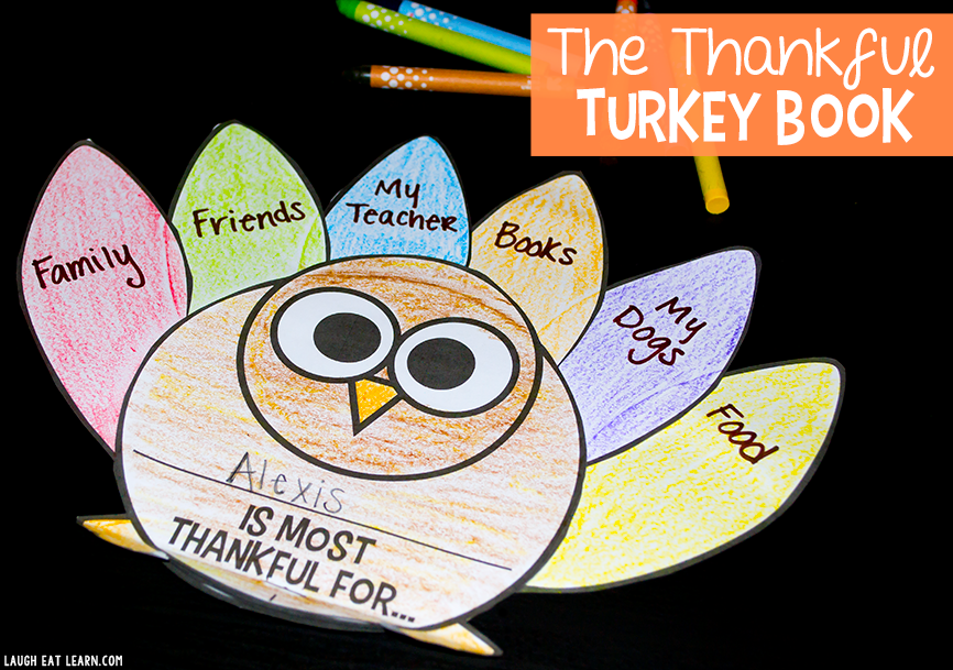 The Thankful Turkey Book