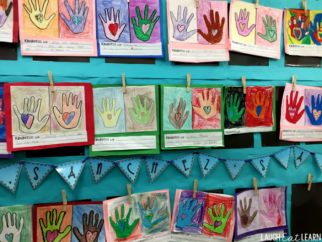 February Kindness Art Project