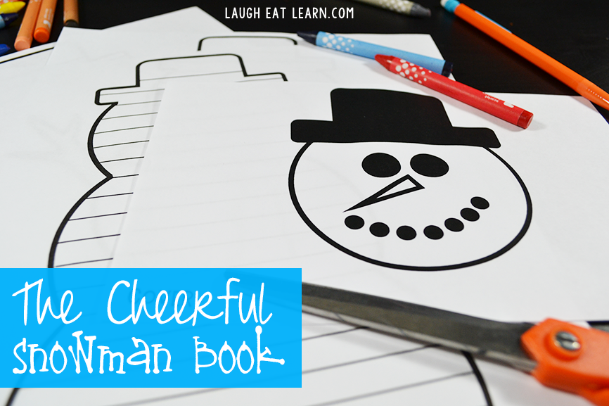 The Cheerful Snowman Book