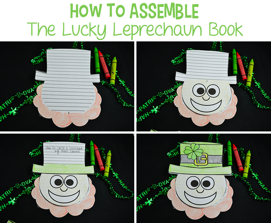 How to Assemble The Lucky Leprechaun Book