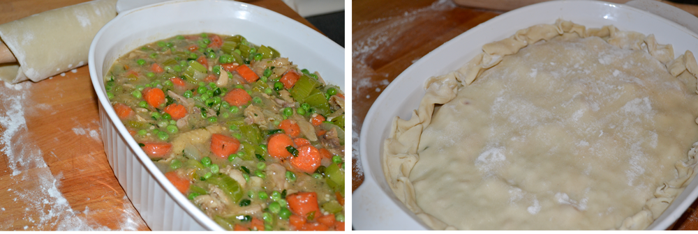 Who says you can't have easy, healthy and homemade chicken pot pie? Skip the freezer aisle and make this recipe for a creole flavored pot pie. With it's large diced vegetables, moist pieces of chicken thigh throughout, creamy creole flavored sauce, and a thick flaky crust, this will definitely be a favorite and much healthier homemade meal for any night!
