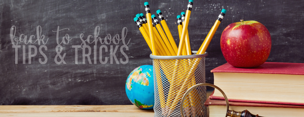 3 Back to School Tips + Freebie