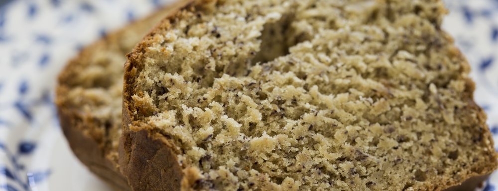 This is the easiest and quickest banana bread that will please any member of your family!