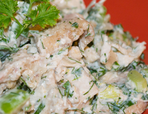 Lemon & Dill Chicken Salad with Chobani