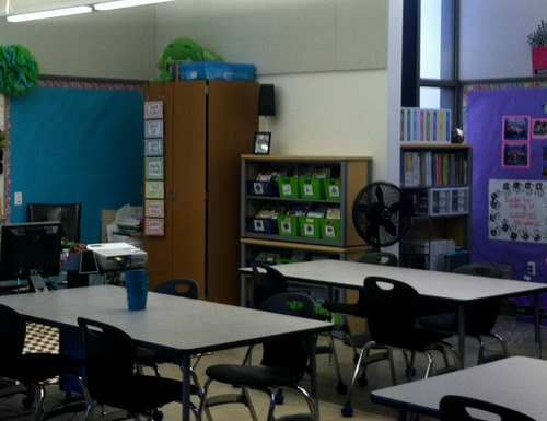 A Peek At My First Classroom + Freebie