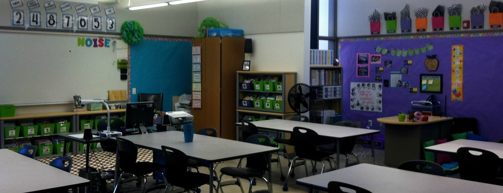 A Peek At My Classroom + Freebie