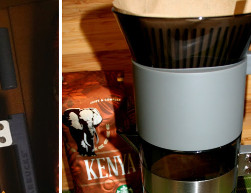 Unpacking Starbucks' Iced Coffee Brewer