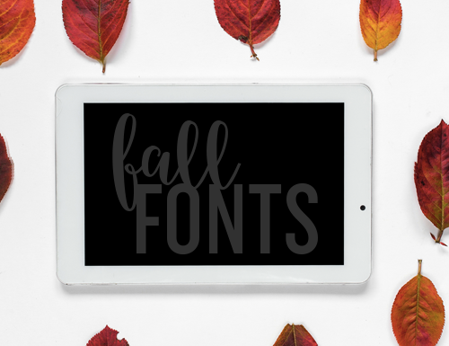 Fabulous Fall Fonts