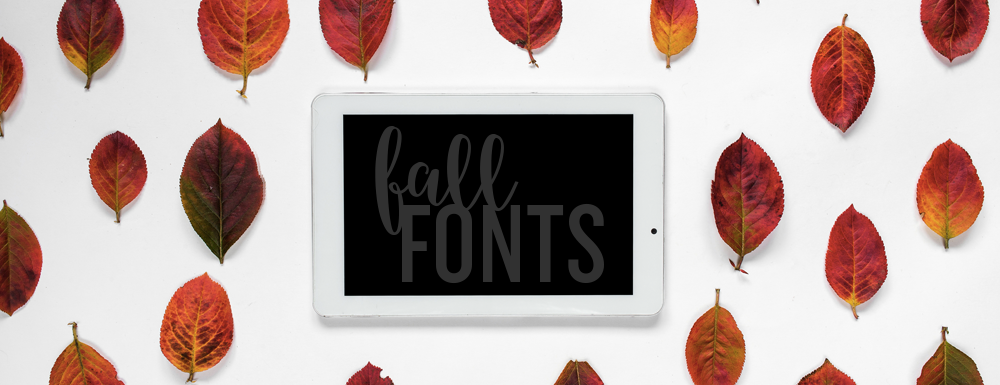 Download some Fabulous Fall Fonts
