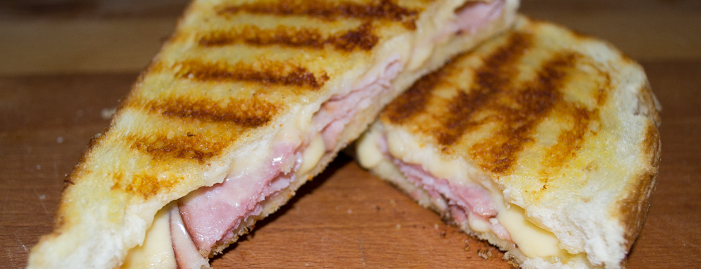 Raise your hand if you loved grilled cheese as a child? I did... and I still do as a adult! This grown up version is made with sourdough bread, gouda cheese, and tasty Hillshire Farm Naturals ham in the middle! This combo is perfect on it's own or with a side of tomato soup.