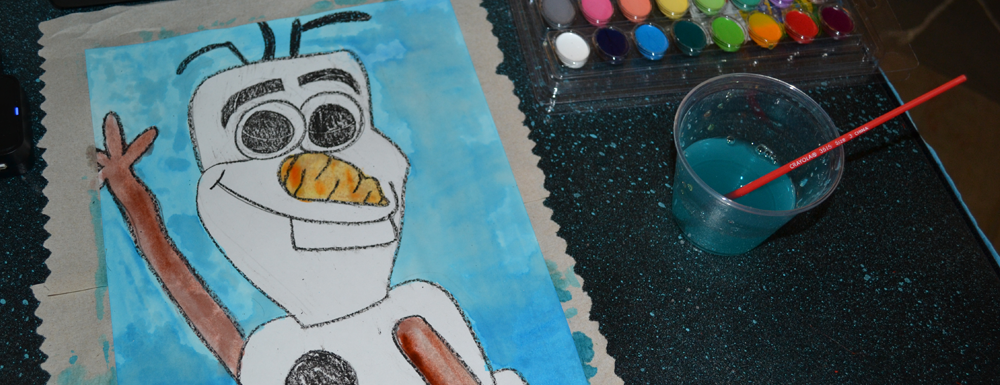 Olaf Art Project