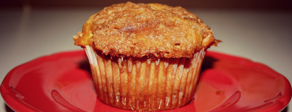 Pumpkin Apple Strudel Muffins