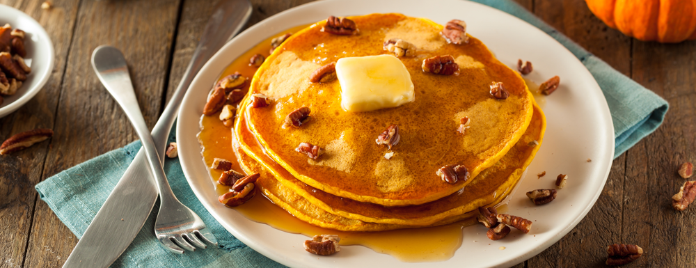 Love pumpkin pancakes? Upgrade your boxed pancake mix with these few ingredients to make this light and fluffy pancakes during the fall season.