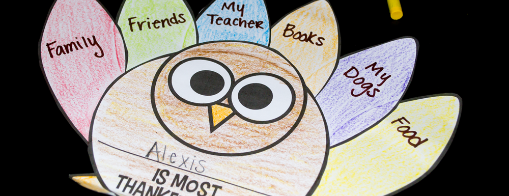 Thanksgiving time for kids is the perfect time to explore writing with these thankful turkey writing crafts. They can easily use their personal lives to share what they are most thankful for, share ideas and traditions for this time of the year, and most importantly reflect on their school year so far. These also make the perfect gift to be sent home before thanksgiving break to share with their families!
