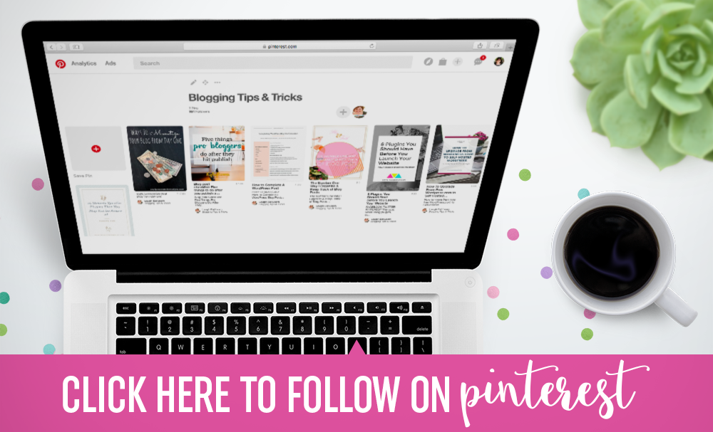 Click here to follow on Pinterest!