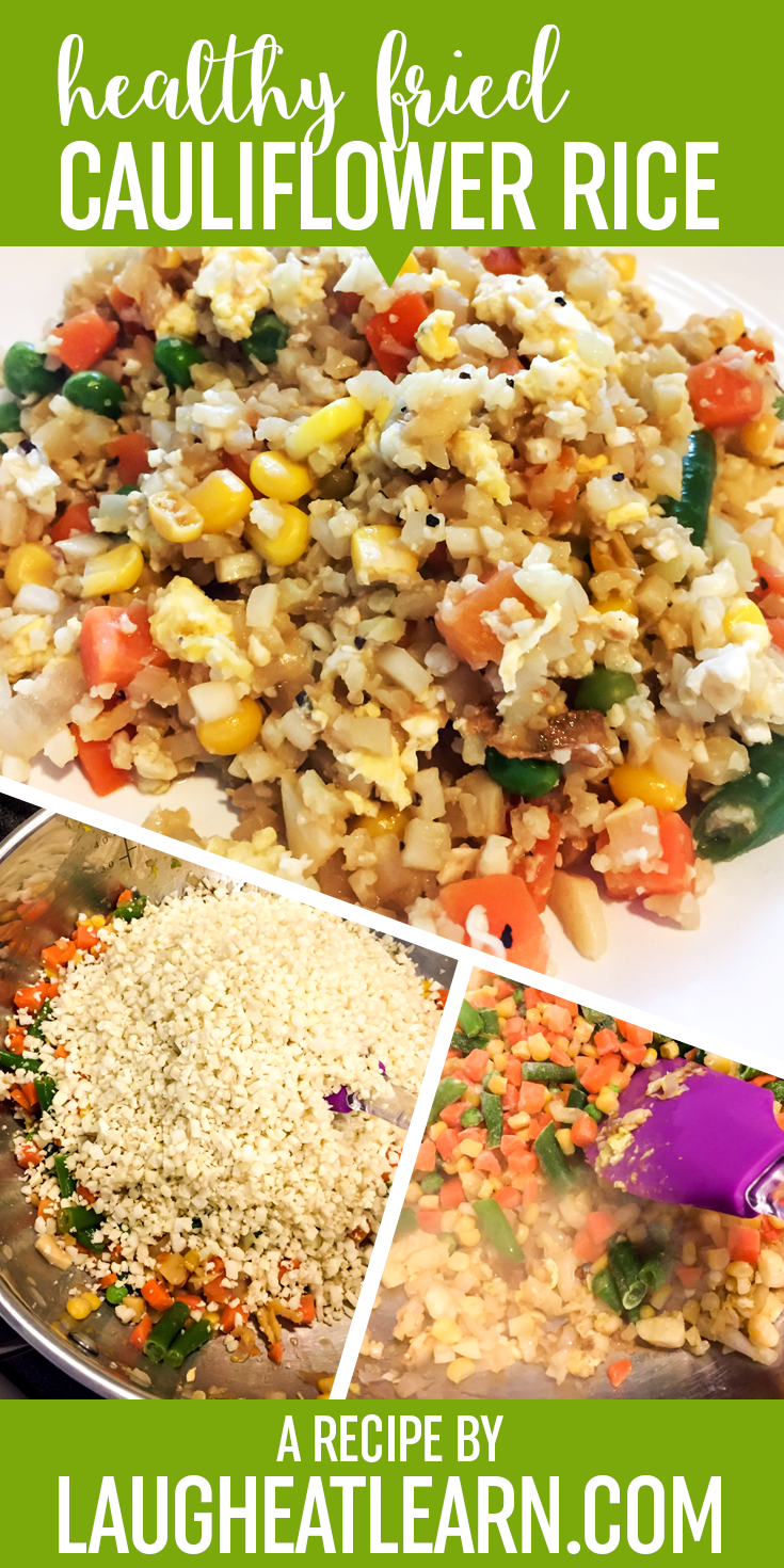 Looking for an easy and healthy alternative to fried rice? Try this Cauliflower Fried Rice that tastes just like takeout and completely trick your taste buds! This low carb recipe is the perfect dish for weeknight meal.