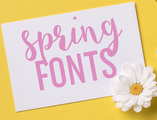 Fabulous Spring Fonts