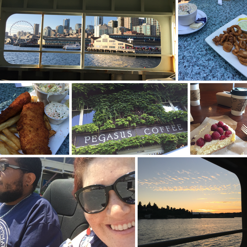 Visit to Bainbridge Island for the weekend with Jonathan.