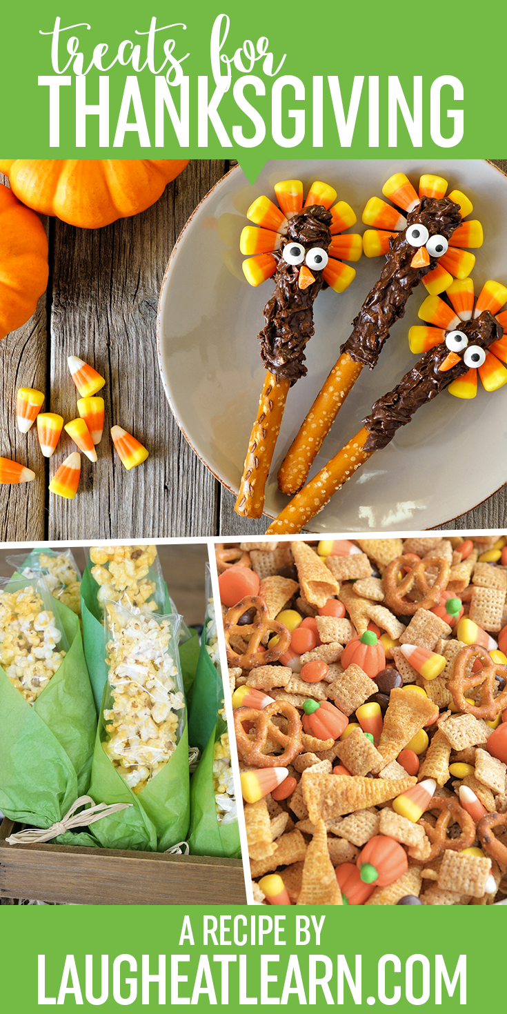 With Thanksgiving around the corner, now is the perfect time to throw a harvest party in your classroom. These easy, cute, and simple treats are perfect for you to make and pass out at school during your celebration!