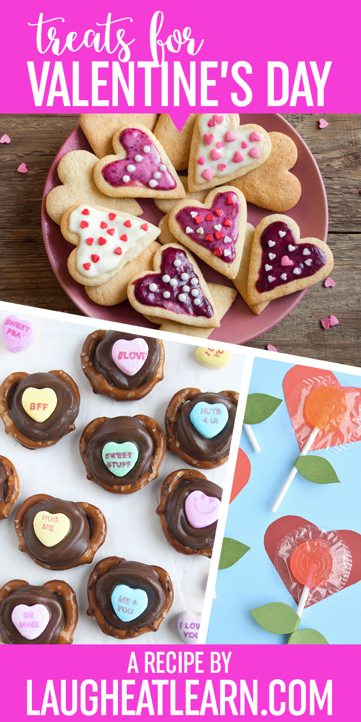 Valentine's Day is something every kid looks forward to each year! Sharing notes of affection, treats, and having a classroom party are the best! I'm sharing some fun, easy, and simple sweets for your students to enjoy at any school party you are hosting.