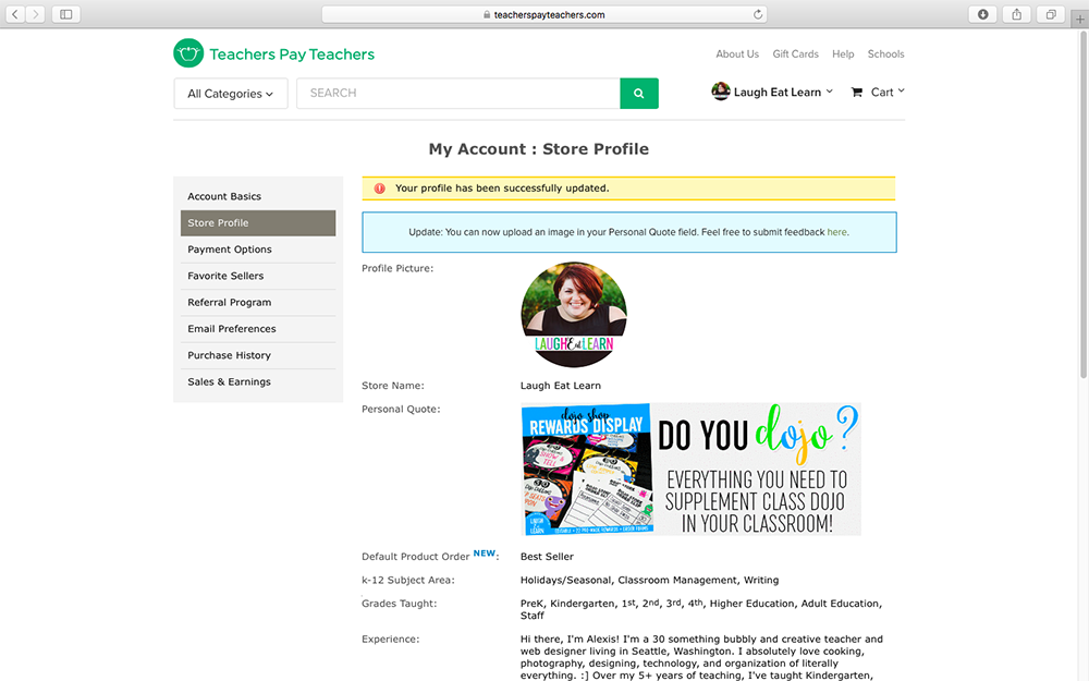Calling all Teacherpreneurs! Learn how to create and install a quotebox GIF in your Teachers Pay Teachers shop. The quotebox space is a perfect space for branding and/or promotion for your best selling classroom products. This tutorial is easy to follow and shows you the whole process from start to finish!
