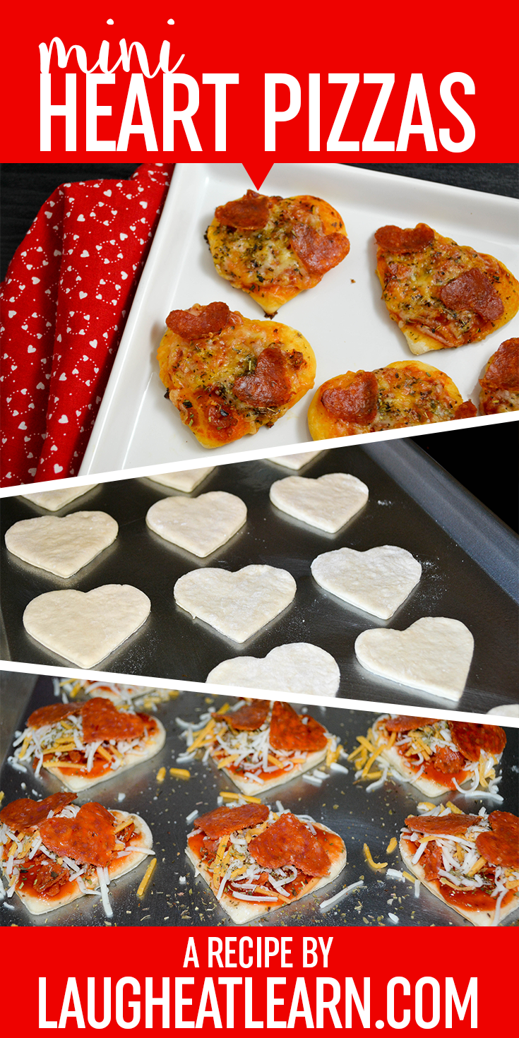With Valentine's Day around the corner, now is the perfect time to get out your heart-shaped cookie cutters (yes, those ones you found at Target!) and get to work on this quick & easy pizza recipe. This recipe is ideal for adults (my fiancé loves them) and kids too. You can even personalize them with any toppings you love. Or even have a pizza party and have everyone make their own! Pizza pizza pizza!