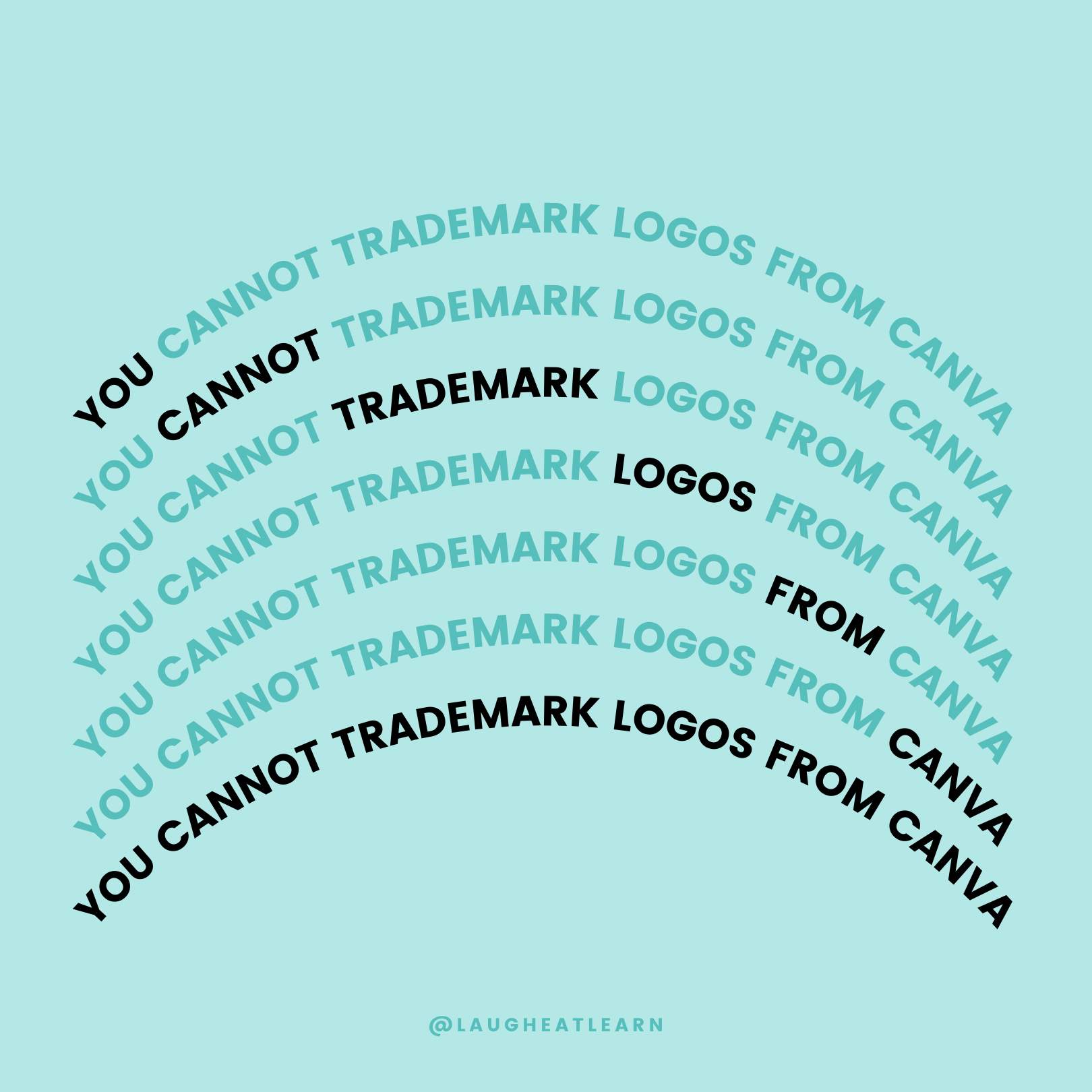 Canva is great.... but is not the best place to create a logo, or even a branding suite. It's because you CANNOT trademark logos from Canva! Did you know this? It's super important to start spreading the word because your business can depend on it.